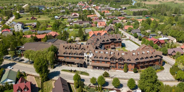 Weekend w Hotelu Żubrówka**** ze SPA w Białowieży