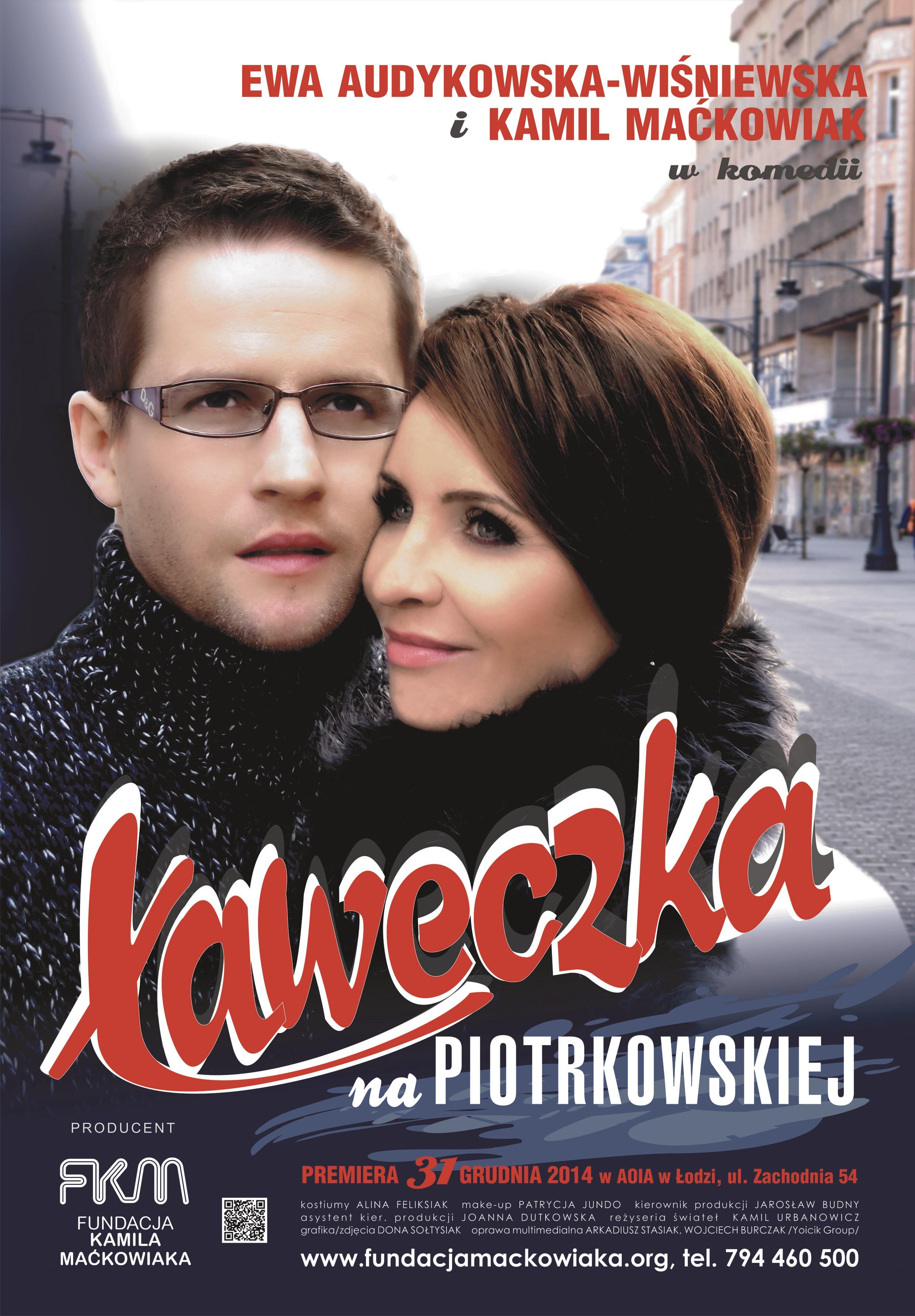 ŁAWECZKA NA PIOTRKOWSKIEJ Plakat FKM