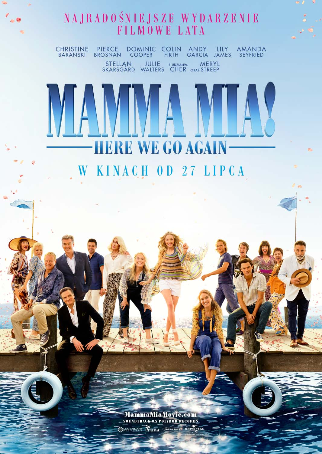 Mamma Mia! Here We Go Again - plakat(1)