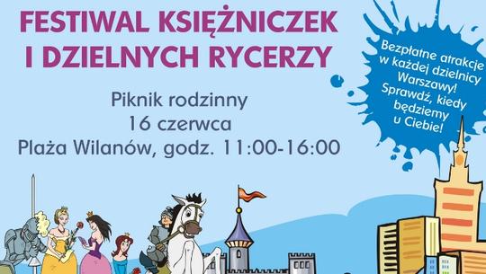 Festiwal Księżniczek i Dzielnych Rycerzy na Plaży Wilanów