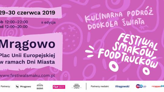 II Festiwal Smaków Food Trucków w Mrągowie
