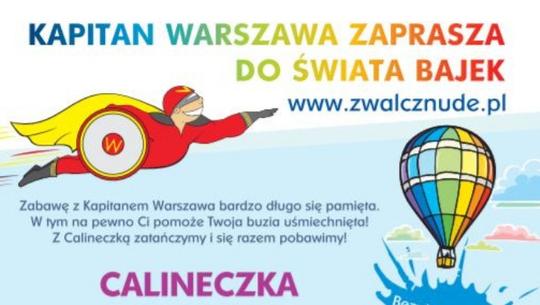 """Kapitan Warszawa zaprasza na bajkowy piknik rodzinny """"Calineczka"""""""