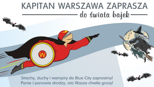 Kapitan Warszawa zaprasza na upiorną grę miejską