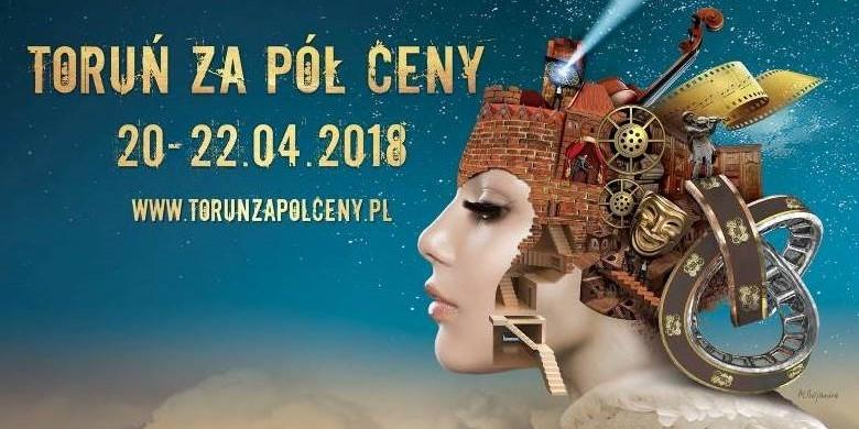 Kopernik stawia połowę - Toruń za pół ceny już 20-22 kwietnia