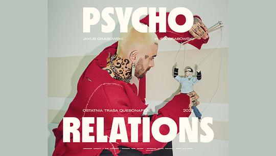 Quebonafide ogłosił ostatnią trasę koncertową - Psycho Relations
