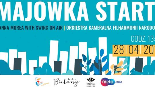 Start Majówka! swingowo i klasycznie w Parku Olszyna