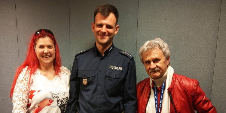 Paweł Przestrzelski z Wydziału Ruchu Drogowego Komendy Stołecznej Policji