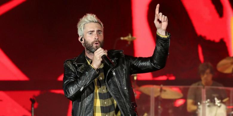 Adam Levine z Maroon 5