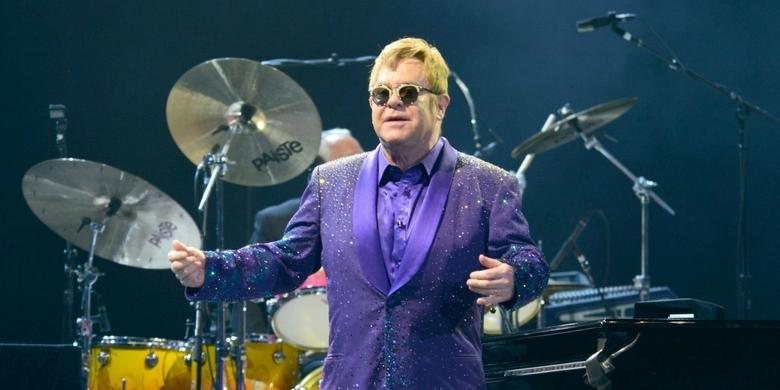 Brytyjczycy wybrali największy przebój Eltona Johna