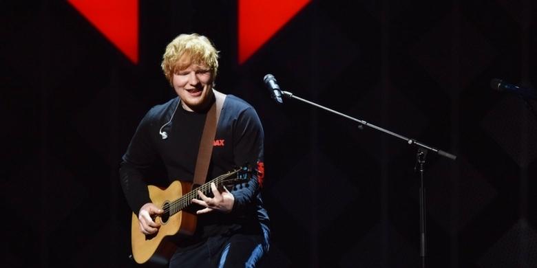 Ed Sheeran zagrał sekretny koncert na ulicy