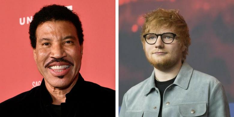 Lionel Richie i Ed Sheeran