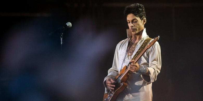 Odcień purpury oficjalnie kolorem Prince'a