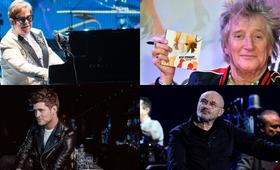 Elton John, Rod Stewart, Michael Buble, Phil Collins