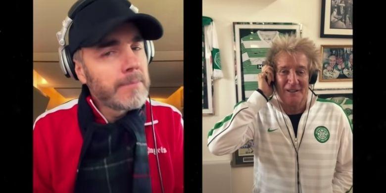 Rod Stewart i Gary Barlow
